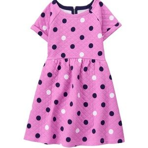Gymboree Quilted Dot Dress